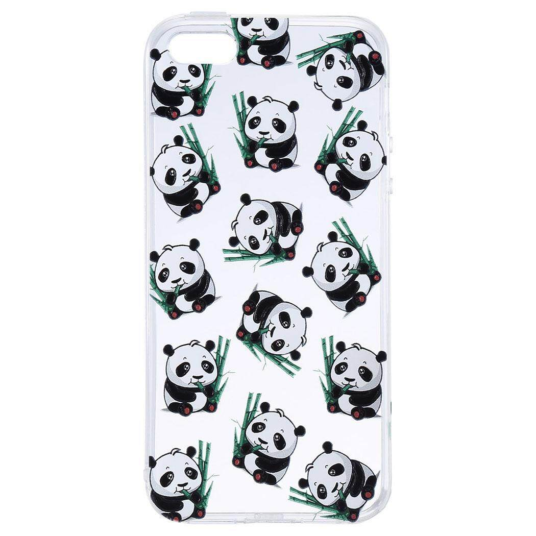 [Sale At Breakdown Price] Cyber Promotion TPU Dust Proof Printed Pattern Phone Case Cover For iPhone5/ iPhone6S/ iPhone7( #7 ) - intl