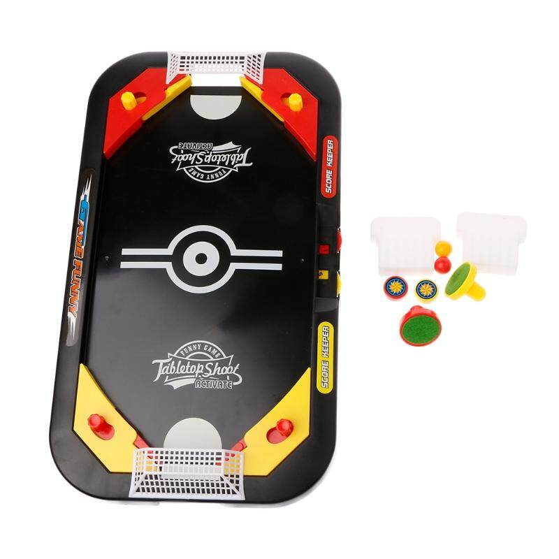 Desktop 2 In 1 Multi Shot Knock Hockey Soccer Tabletop Game 2 Player Sports Toy Intl Sale