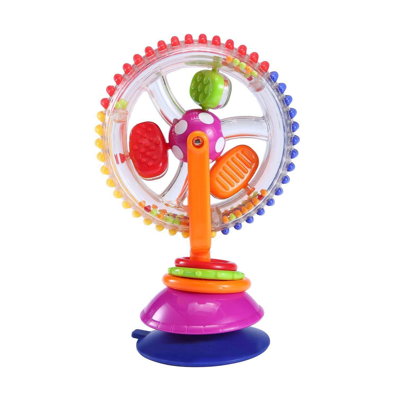 Dmscs Bayi Ferris Roda Berputar Roda Windmill Bayi Toddler Mainkan Mainan Anak Anak Mainan Spinning Roda Pengisap Kursi-Internasional