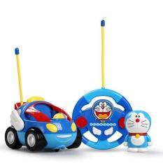Doraemon Remote Control Car With Music And Light By Toys & Tots.