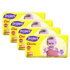 Drypers Classic Family Pack (15kg++) -XXL42 (4 pack)