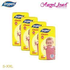 Drypers Classic Family XXL42 4Packs