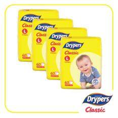 Drypers Classic Open L (4x60s)