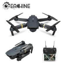 Eachine E58 Wifi FPV dengan 2MP Kamera Sudut Lebar Tinggi Tahan Mode Lipat Drone RC Quadcopter RTF 1 Baterai