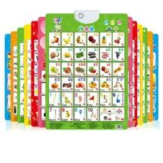 Early Childhood Children Electronic Audio Chart Baby Sound Pronunciation Alphabet Cognitive Bump By Wanjiamei.