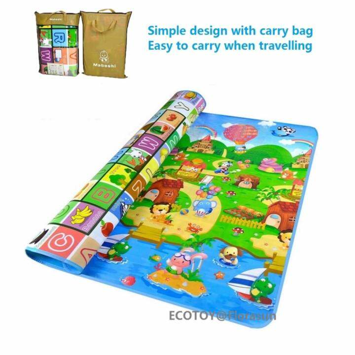 Ecotoy Extra Large Mat Size 200 X 180 X 0 5 Cm Baby