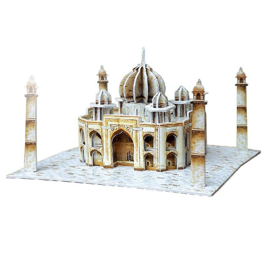 ZTStore Eduzle Jigsaw Mini India Taj Mahal Diy Toy