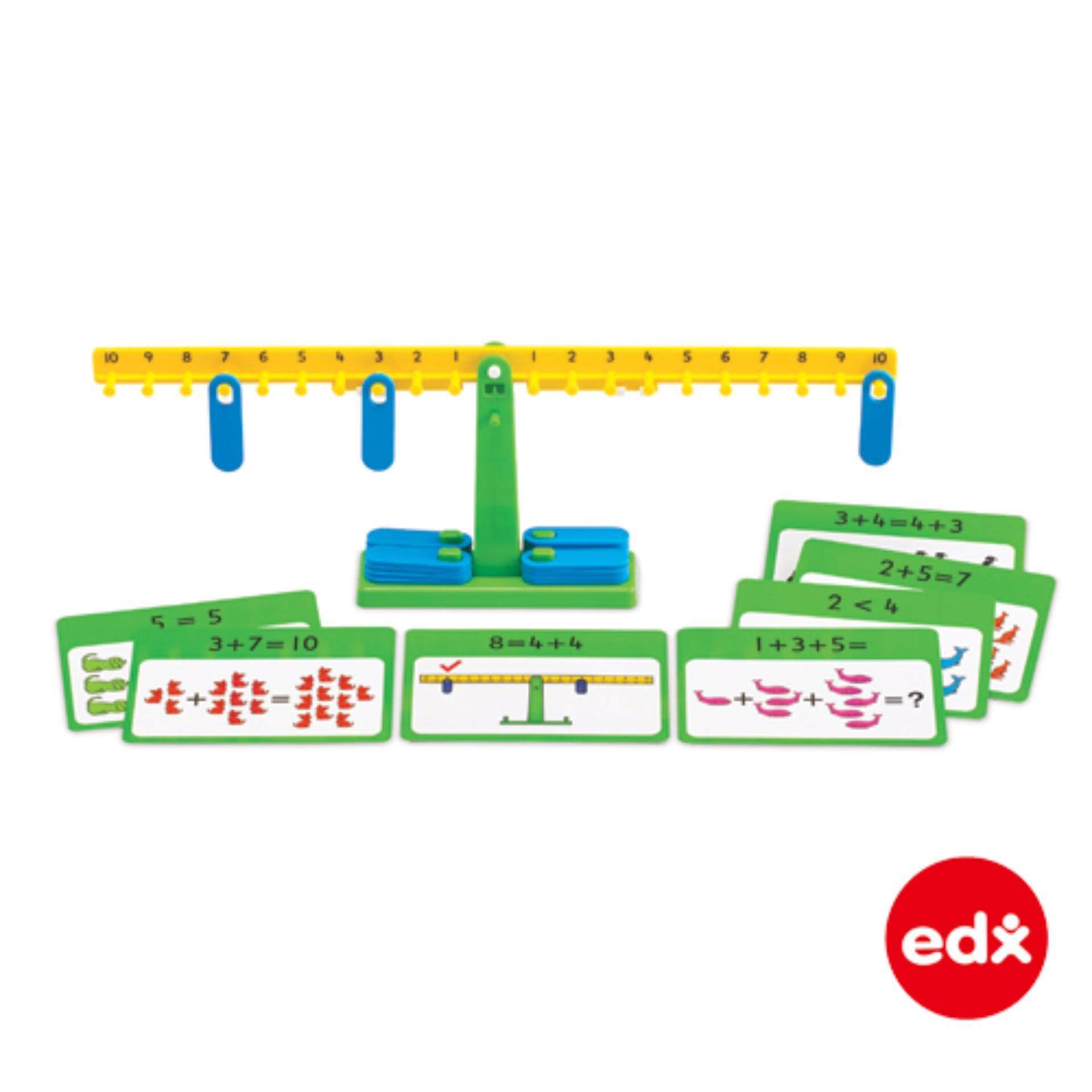 Price Edx Education® Number Balance Activity Set Maths Explore Addition Subtraction Division Multiplication Intl Taiwan