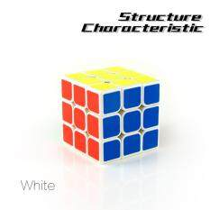 Entry Level 3x3 Magic Puzzle Cube Brain Teasers White
