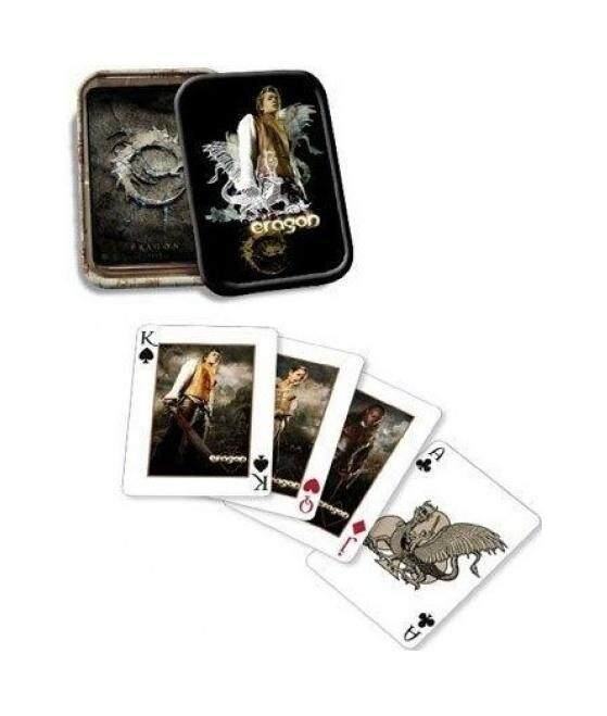 Eragon Playing Cards in Tin Box - Deck of Cards - intl