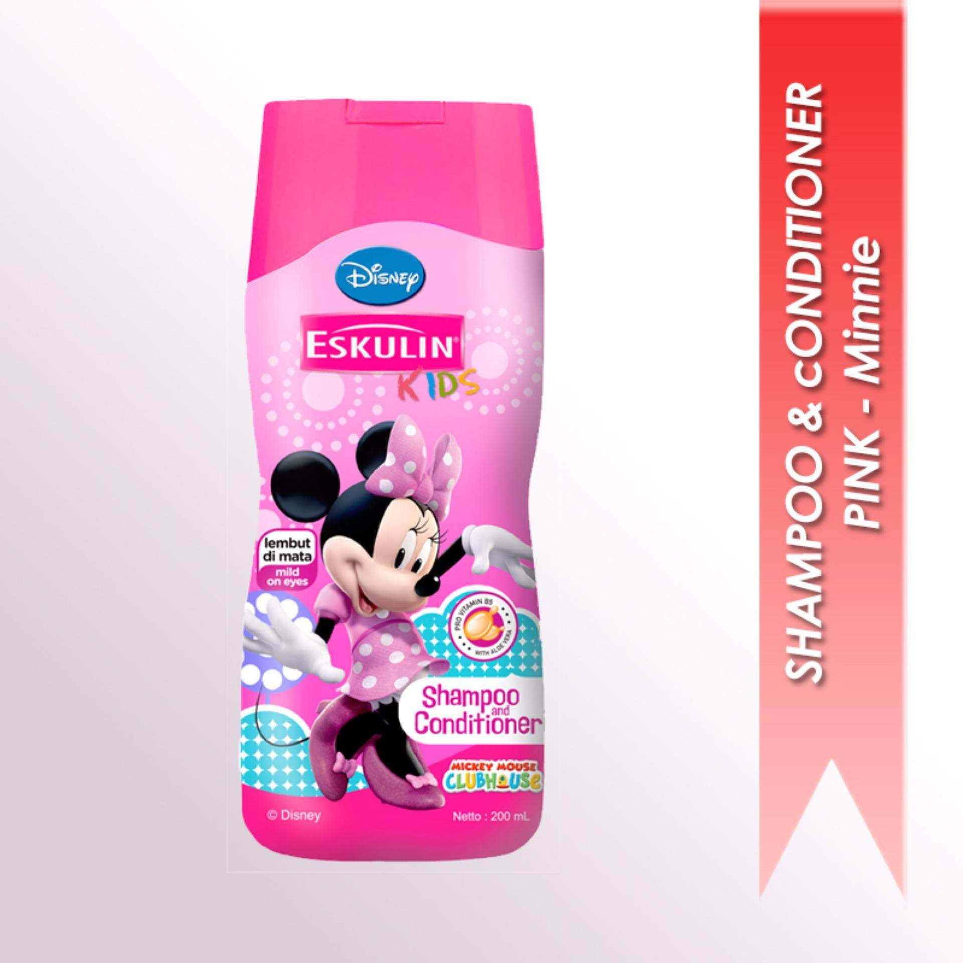 Eskulin Kids Shampoo & Conditioner - Pink - Minnie
