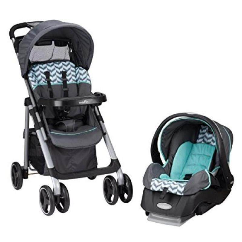 Evenflo Vive Travel System with Embrace, Spearmint Spree - intl Singapore
