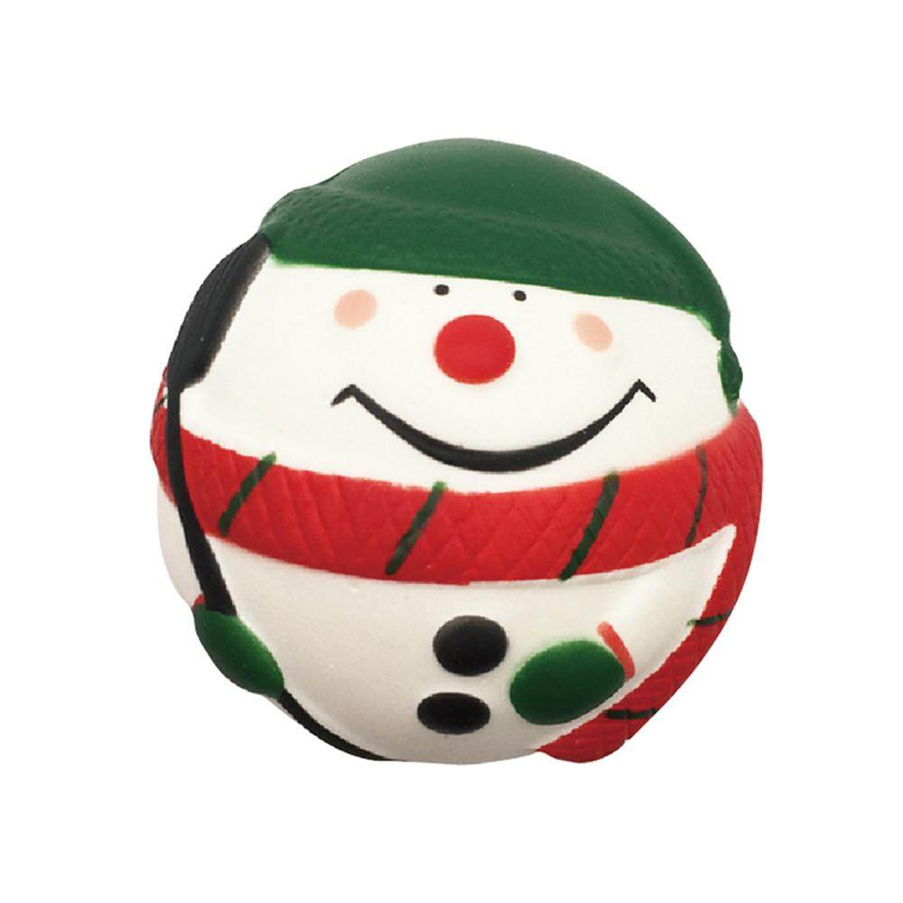 Shopping world Exquisite Snow Man Scented Squishy Charm Slow Rising 7cm Simulation Kids Toys