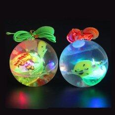 Fancytoy Soft Rubber Led Jumping Ball Bouncy Bouncing Light Balls Kids Toy Party Random By Fancytoy Market.