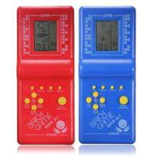 FC 2Pcs Childhood Classic Fun Tetris Hand Held Lcd Electronic Gametoys Brick Game New