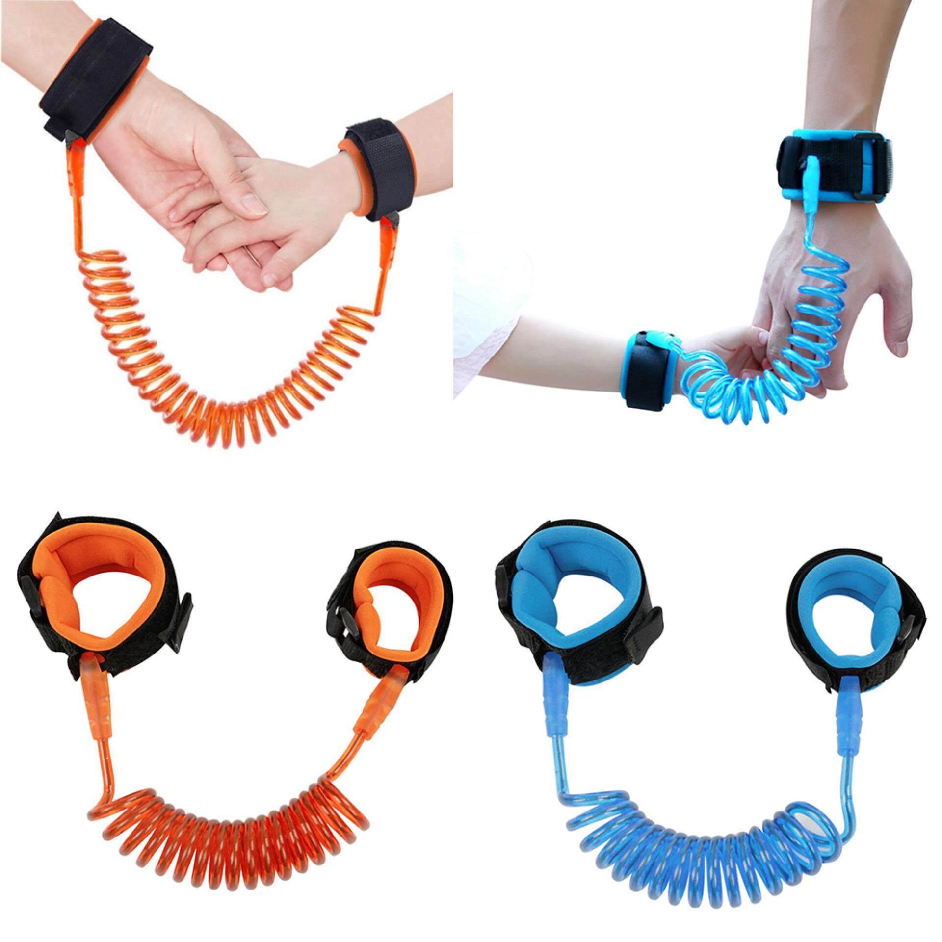 Fengsheng 2PCS 2.5M Loop Fastener Wrist Link Rope Band Leash Belt Baby Child Anti Lost