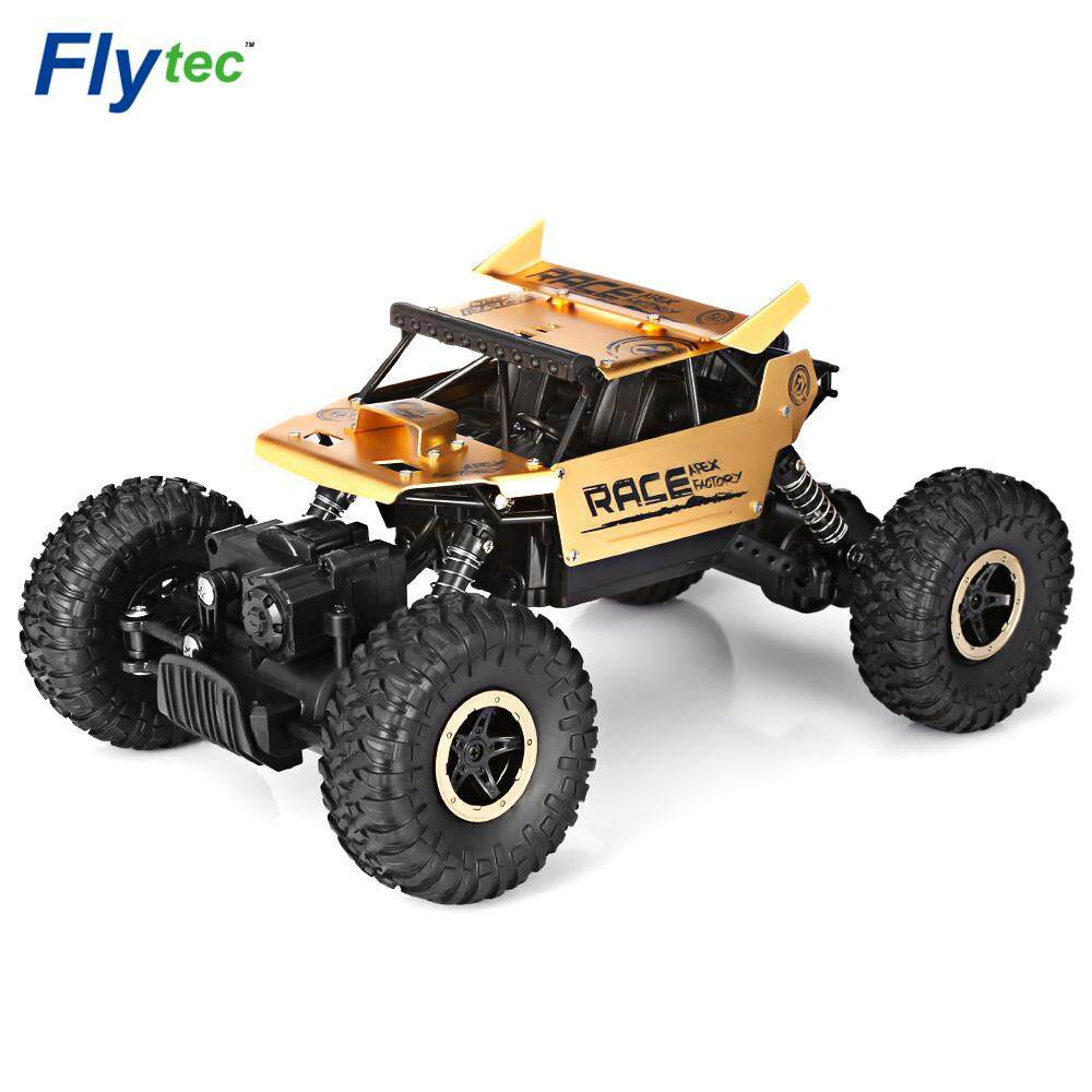 Great Deal Flytec 9118 1 18 Alloy 2 4G 4Wd High Speed Climbing Rock Car Racing Vehicle Intl