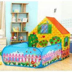 Stok Tersedia Gratis 50 Bola Ruang Besar Portable Anak Bermain Tenda Taman Rahasia Playhouse Castle