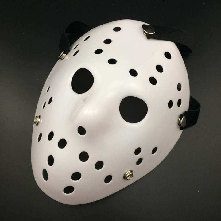 Friday The 13th Jason Voorhees Mask for Halloween Costume Party - White