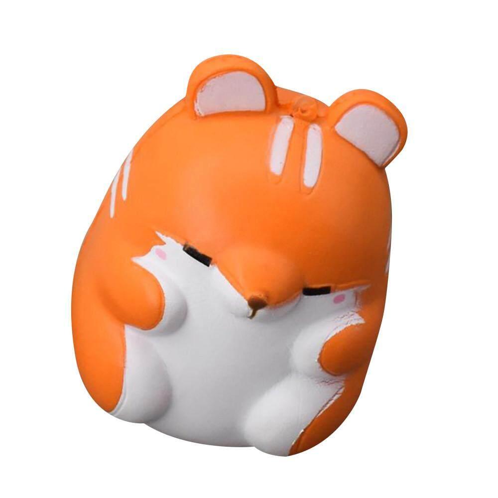 Menyenangkan Hamster Licin Dekorasi Lambat Rising Mainan Anak Mainan Bola Remas Anxiet Hadiah atau-Intl
