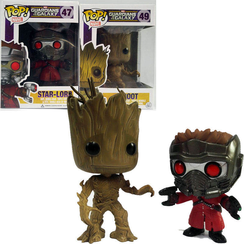 Funko POP Galaxy Guard Trees Grout Groot Star 47 # Boxed Hand Made Ornaments Toys