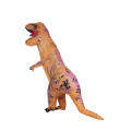 Funny Adult Inflatable Dinosaur Trex Costume Suit Air Fan Operated Blow Up Halloween Cosplay Fancy Dress Animal Costume Jumpsuit
