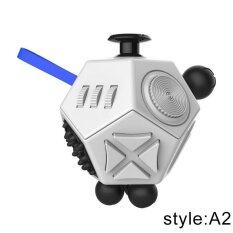 Hình ảnh Funny Novelty Version 2 3D Fidget Cube Toy The World's Decompression Anxiety Toys VS Hand Spinner Finger Spinner Hand Spin