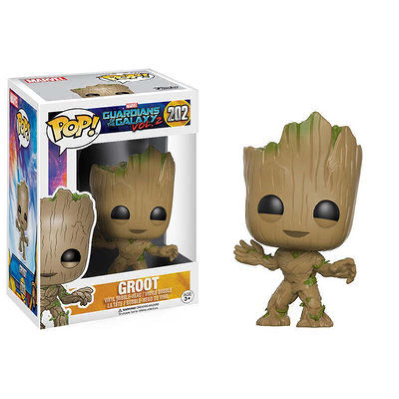 Galactic Guard Film and Television Animation Around Funko POP Grout Dancing Tree Man Hand Model Key Holder