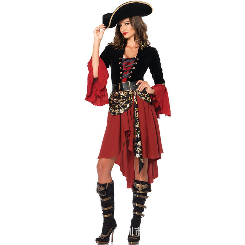 TTW Halloween Cosplay Costume Role Play Female Captainpirates Pirates Of The Caribbean Clothing Adult Clothing U2013