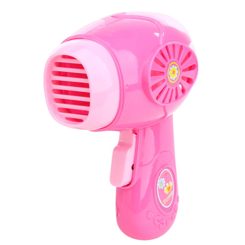 Hình ảnh GDS Kids Mini Electric Hair Dryer Simulation Play House Toy - intl