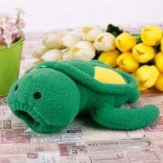 GETEK Baby Tortoise Shape Plush Bottle Feeder Warm Cover (Green)