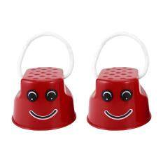 Hình ảnh GOFT Children Kids Outdoor Fun Walk Stilt Jump Smile Face Balance Training Toy Red