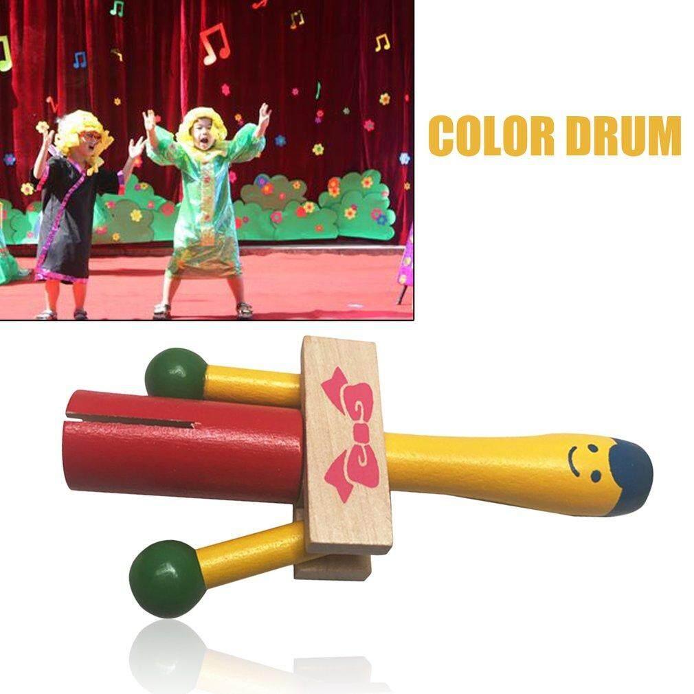 Hadiah YB10-4 Alat Musik Suara Bagus Handheld Memukul Mainan Pendidikan Warna-warni-