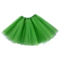 Pinellia Flowers Girls Princess Ballet Tulle Tutu Skirt Wedding Prom Rockabilly Mini Dress Green By Pinellia Flowers.
