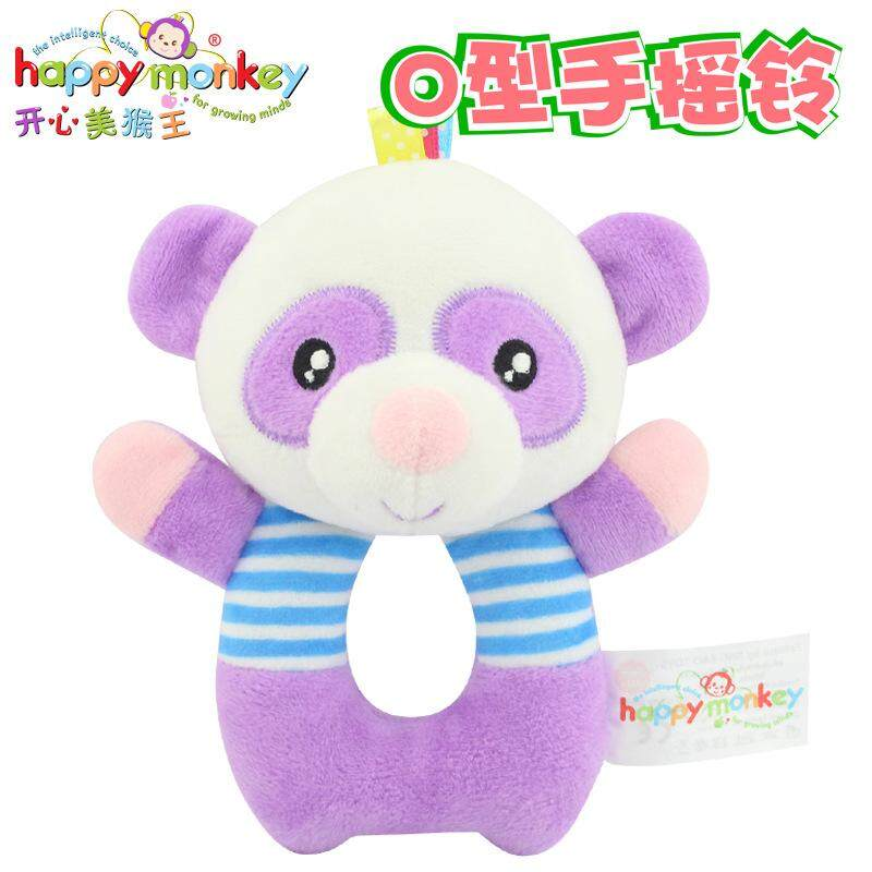 Happy Monyet Mainan Bayi Rattles Baru Lahir Anak Usia Dini Pendidikan  Teka-teki Mainan Beruang 740f692939