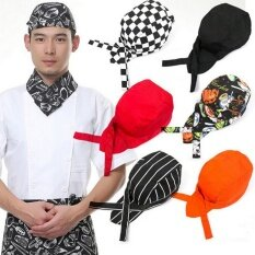 Year Pirates Chef Hat Spicy Blue Stripe Tableware Ribbon Kitchen Cap Black - Intl By Bloom Zoom.