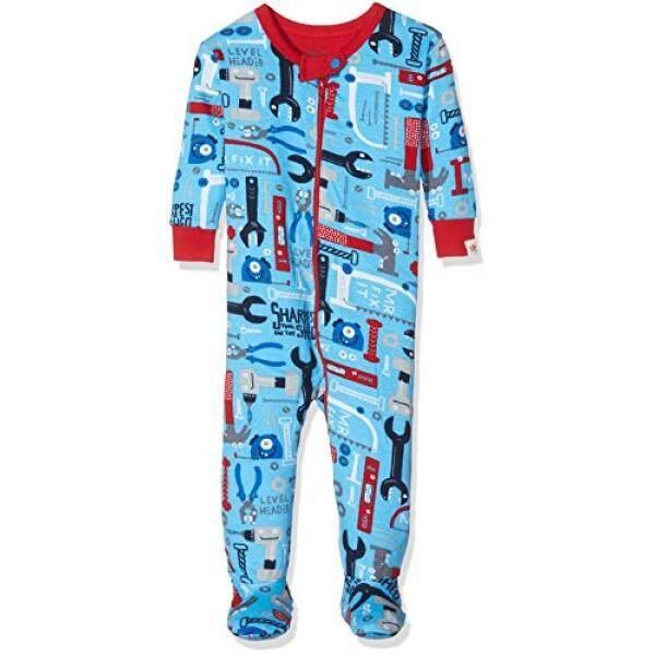 Hatley Bayi Laki-laki Katun Organik Tempat Tidur Berkaki, Tn. Memperbaikinya, 6-9 M-Intl