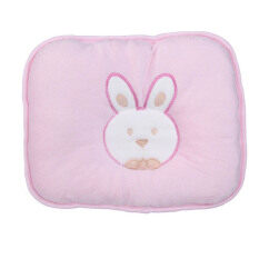 MYR 32 HKS Lovely Soft Infant Baby Pillow Bunny Head Shape Seven hollow Fibre