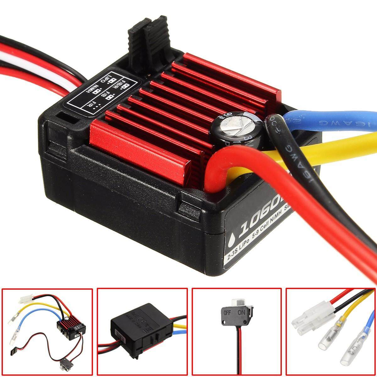 Who Sells Hobbywing Quicrun 1 10 Waterproof Brushed 60A Esc 4Wd Rc Car Buggy Touring 1060 Intl The Cheapest