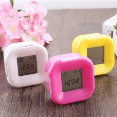 Home Bedroom Kids Led Color Change Digital Glowing Quartz Alarm Clock By Brisky.