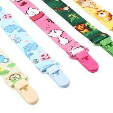 Honeymore Universal Pacifier Soother Clips - Adorable Style For Your Baby - 5 Pack By Honeymore.