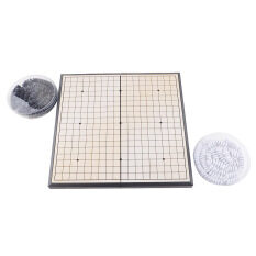 HOT Quality Game of Go Go Board Game WeiQi Full Set Stone 18x18 Study Size