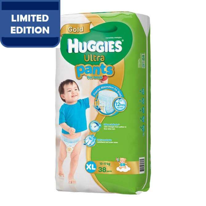 Huggies Ultra Pants Boy XL38 x 1 Super Jumbo pack