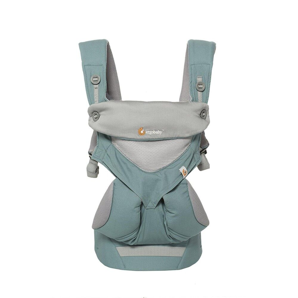 Icy Mint All Carry Position 360 Mesh Baby Carrier and Easy Snug Infant (Blue) - intl