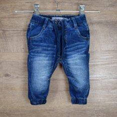 Infant Toddler Baby Boys&girls Super Soft Denim Jeans Harem Pants Jogger Trousers By Lepeng Kids.