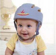 Infant Toddler Safety Helmet Baby Head Protection Hat For Walking (grey) By Sweetbaby123.