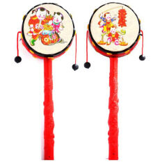 Chinese Rattle Drum Cartoon For Baby Kids