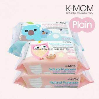 K-MOM: Organic Basic Wet Tissue Natural Pureness ( 100 sheets x 3 Packs