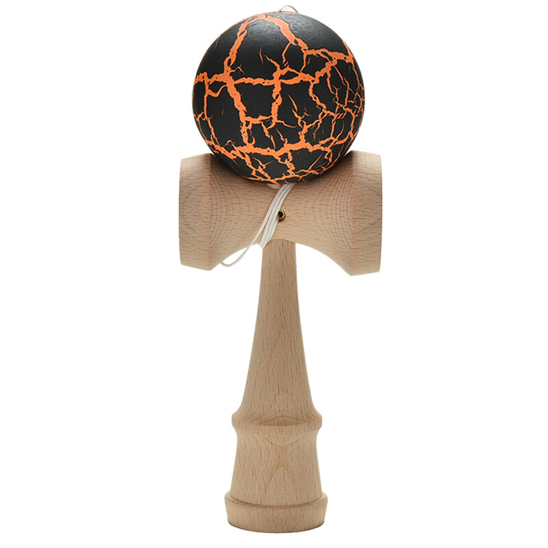 Hình ảnh Kendama Traditional Toy Japanese Skillful Juggling Ball Educational Toy Black - intl