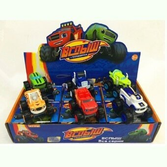 Sale Kids Blaze And The Monster Machines Vehicles Diecast Car Toys Goodgifts Intl Oem Branded